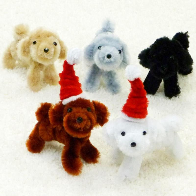 モールでクリスマスアニマル(ヒツジ&犬)