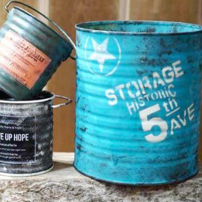 大人気のアンティーク風リメイク缶を作ろう