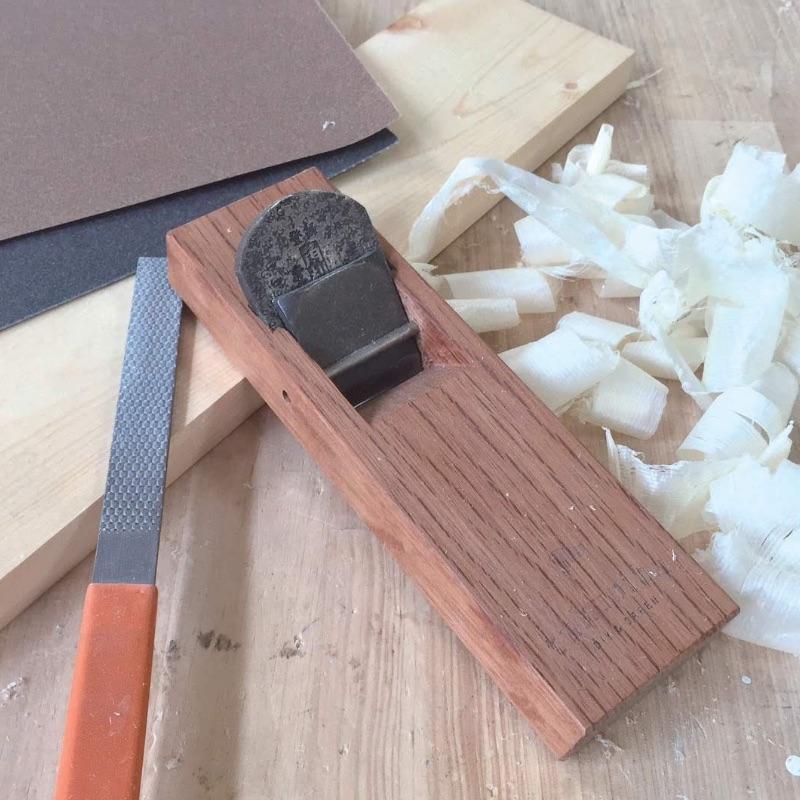 [手工具]②削る~カンナをかける